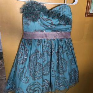 Strapless B•Wear cocktail dress
